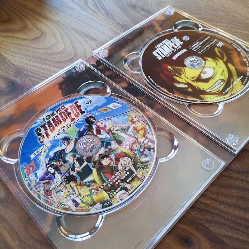 劇場版「ONE PIECE STAMPEDE(スタンピード)」の2枚組DVD