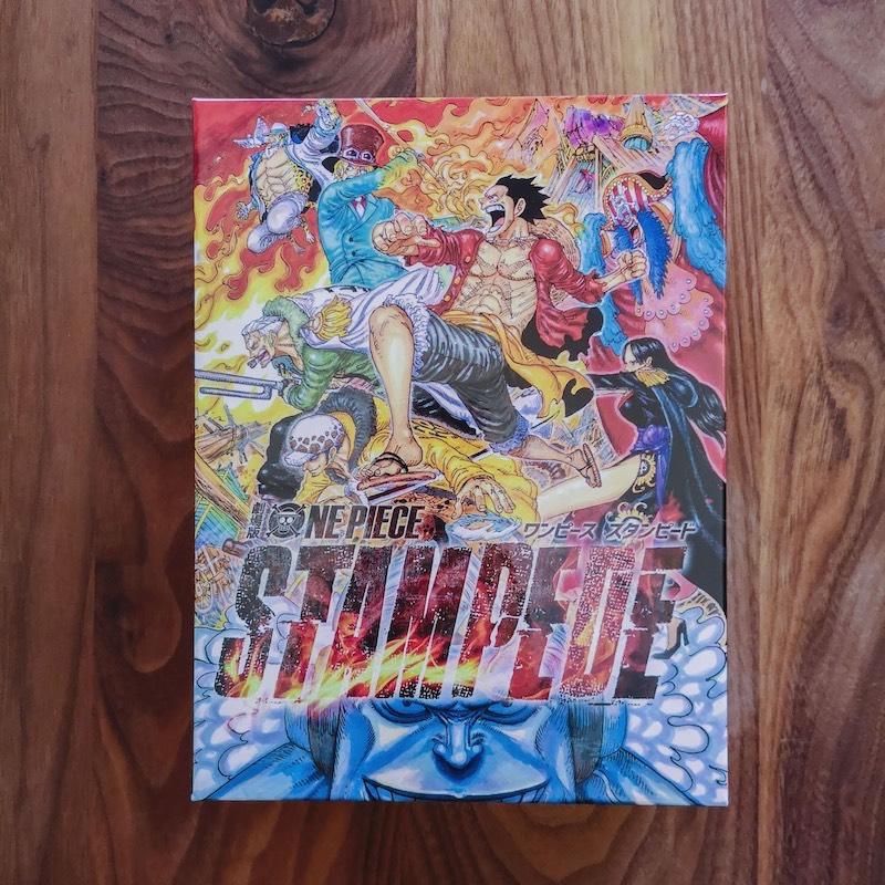 劇場版「ONE PIECE STAMPEDE(スタンピード)」の映画ポスタービジュアルを使った特製BOX